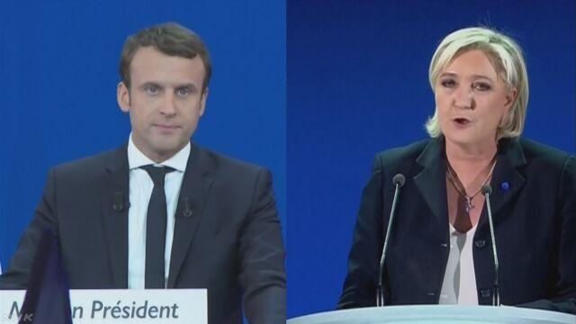 フランスの大統領-マクロンさんとルペンさんの2人から選ぶ