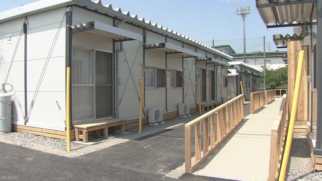 熊本県で大きな地震が起こってから1年
