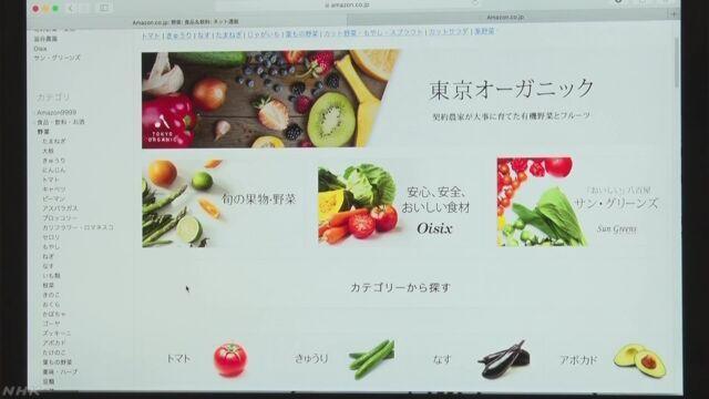 アマゾンが肉や魚野菜などを届けるサービスを始める