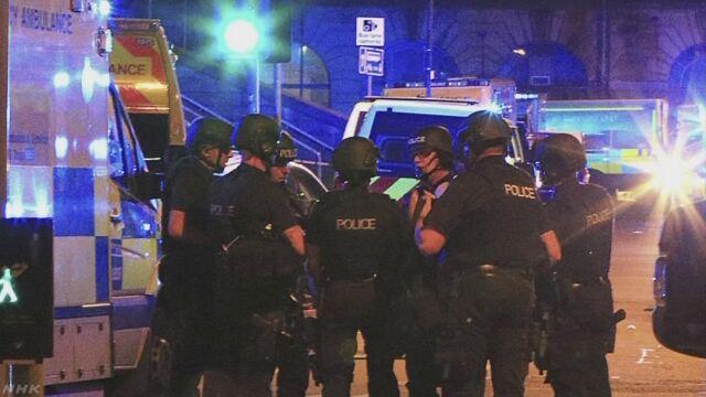 英コンサート会場 19人死亡約50人負傷 テロとして捜査