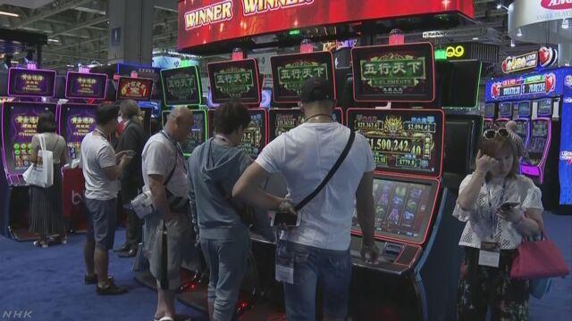 マカオでカジノ展示会 関係者が日本進出に意欲