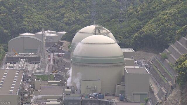 福井県にある高浜原子力発電所の4号機が運転を始める
