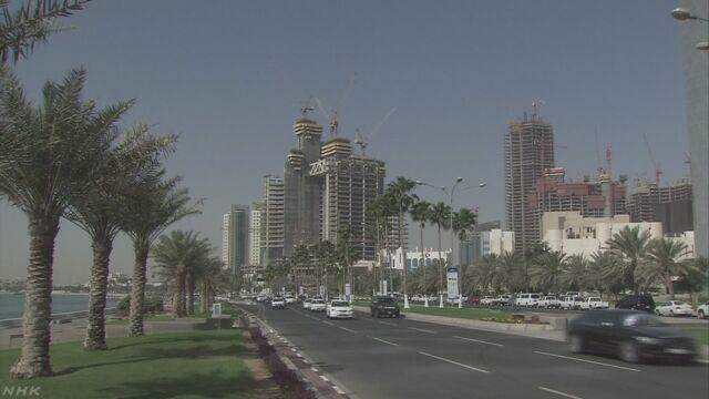 サウジアラビアなど6つの国がカタールとの交流をやめる