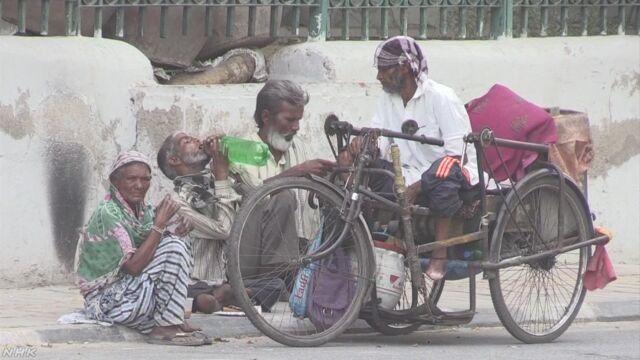 インド 連日50度超える暑さで360人死亡
