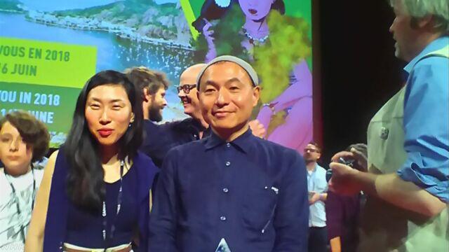 フランスで日本のアニメの映画が「クリスタル賞」をもらう