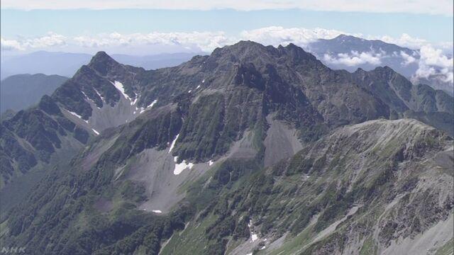 山で事故にあった人は去年2929人もいた
