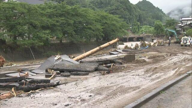福岡県と大分県で強い雨がたくさん降って危険になる