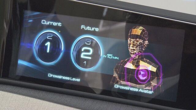 パナソニック 運転している人が眠いかどうか調べる技術