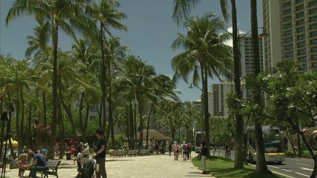 ハワイ 歩きながらスマートフォンを見ることが禁止になる