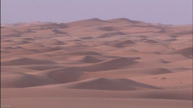 サハラ砂漠で難民や移民 4月以降 約1000人を保護