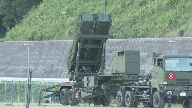 北朝鮮のミサイルに備えて「PAC3」を置く