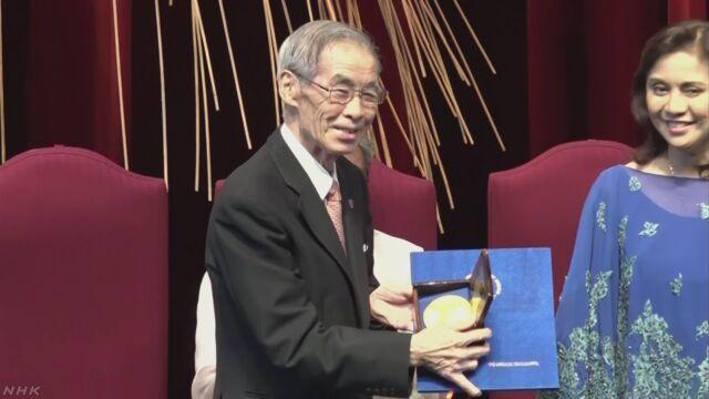アンコール遺跡を守った日本の教授に「マグサイサイ賞」