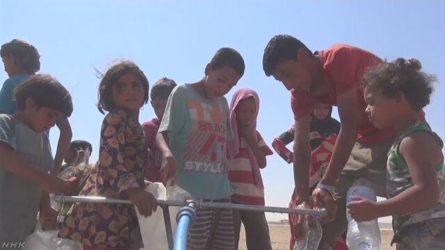 難民の子どもの半分以上が学校に通うことができない