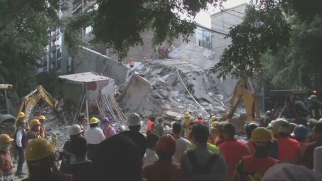 メキシコで大きな地震 149人が亡くなる