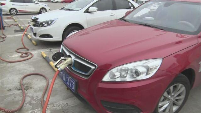 中国 一定割合でEVなど生産義務づけの新規制