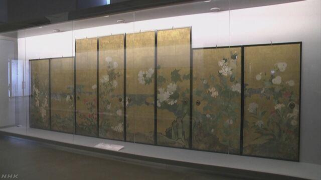 イタリアで日本の「びょうぶ」の展覧会が始まる