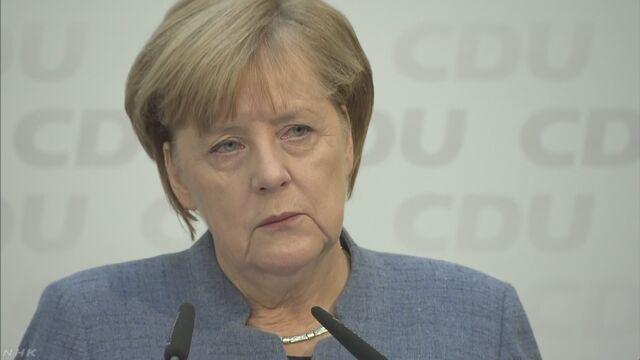 ドイツのメルケル首相「国に入れる難民は20万人以内」