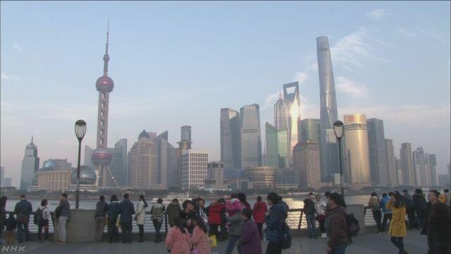 中国のGDP+6.8% 伸び率低下