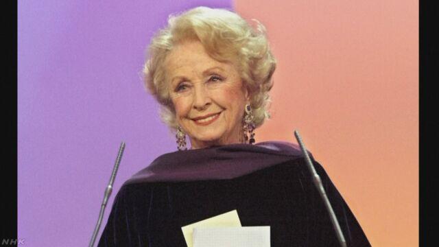 100歳の仏の女優ダニエル・ダリューさん死去