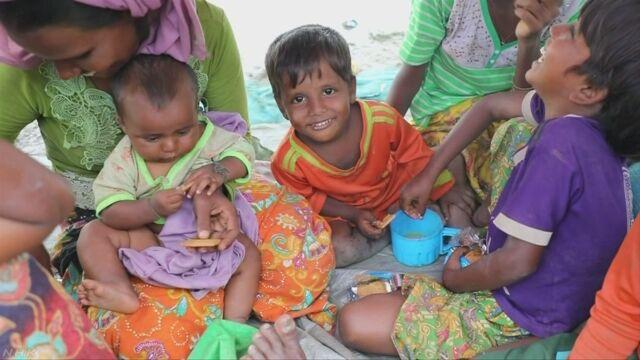ロヒンギャを助けるために世界の国が390億円出す
