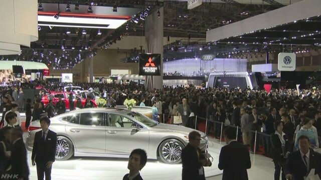 東京モーターショー 多くの会社が電気自動車を紹介