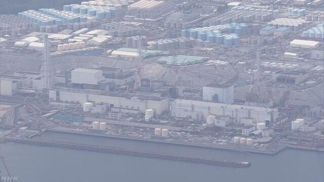 福島第一原発 建物の周りの土の中に氷の壁ができる