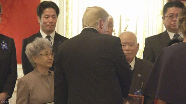 安倍首相とトランプ大統領 拉致被害者の家族と面会