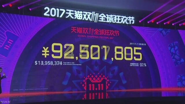 11日は中国の「独身の日」ネット通販値引きセール開始