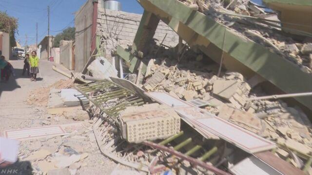 イランとイラクの国境で地震 450人以上が亡くなる