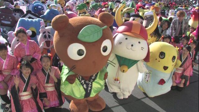 埼玉県で県や市のキャラクターが300以上集まるイベント