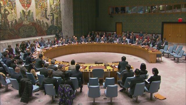 ミサイルを発射した北朝鮮について国連が会議を開く