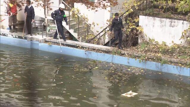 京都の学校にイノシシ 2頭捕獲