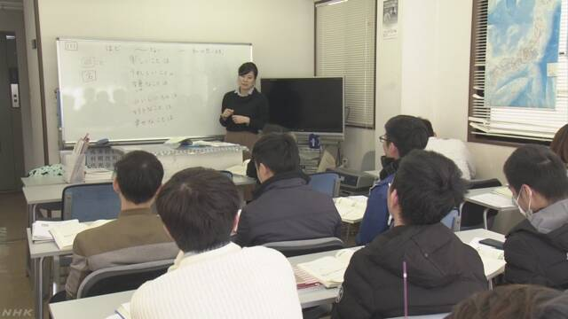 日本語学校急増 5年で200校以上新設  背景に人手不足か