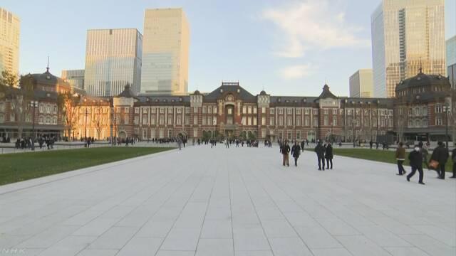 東京駅の前に大きな広場ができる