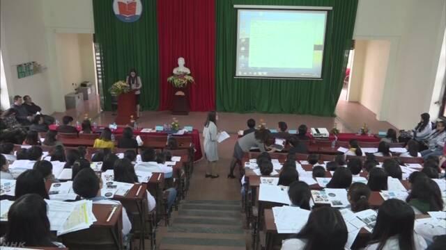 ベトナムの日本大使館「留学する前に正しい情報を集めて」