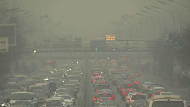中国 二酸化炭素を少なくするために新しい制度を始める