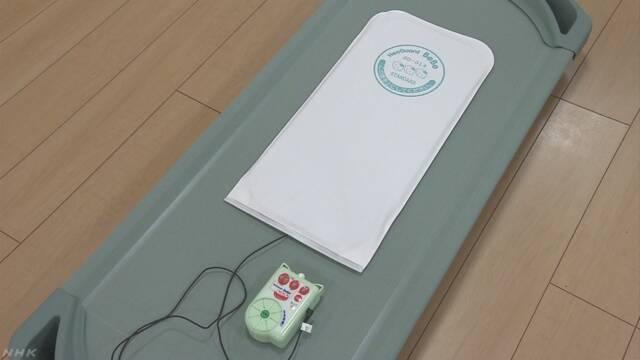 赤ちゃんが寝ている間ベビーセンサーを使う保育園が増える