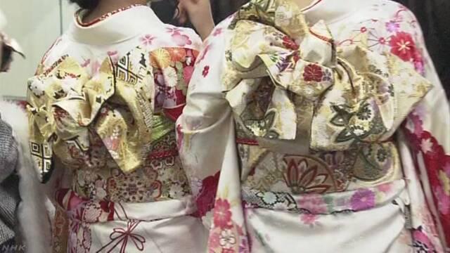 成人式に着物が届かないトラブル 1億円以上の被害
