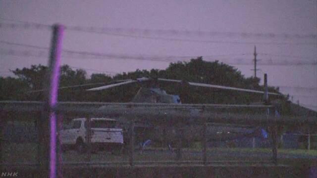米軍ヘリ緊急着陸 強まる怒りや不安の声 沖縄県が抗議へ