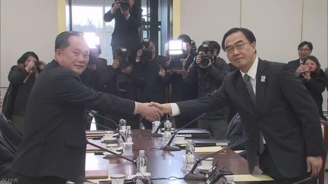 北朝鮮がピョンチャンオリンピックに出ることになる