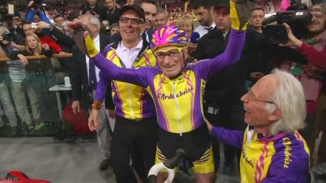 106歳 競技自転車乗りのフランス人男性引退