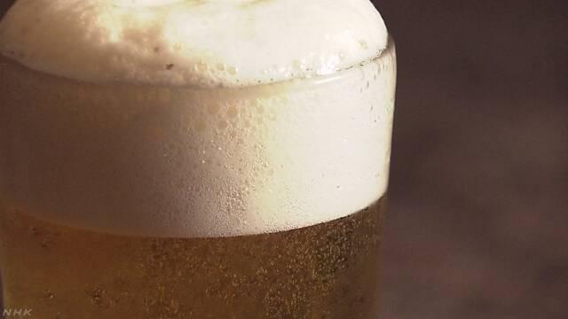 ビールを飲む人が減り続けている
