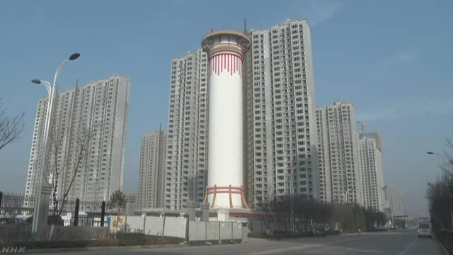 中国 西安に巨大空気清浄機 大気汚染の改善なるか
