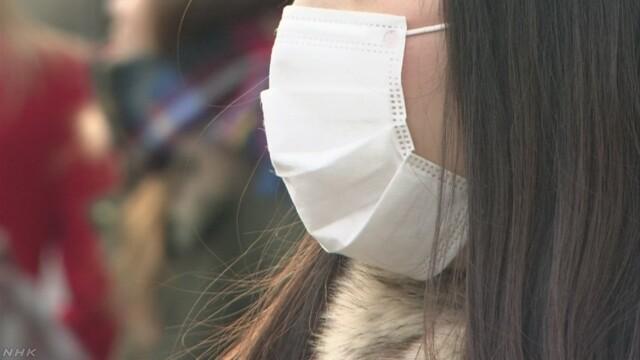 インフルエンザ患者数 統計開始以降最多に 前週比112万人増