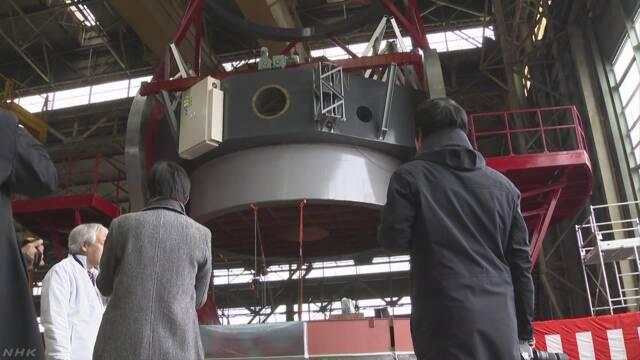 世界最高水準の大型赤外線望遠鏡が完成