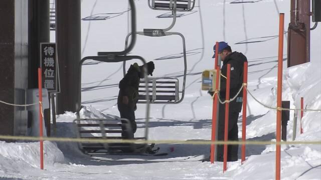 草津白根山の噴火から1か月 スキーに来る人は40%減る