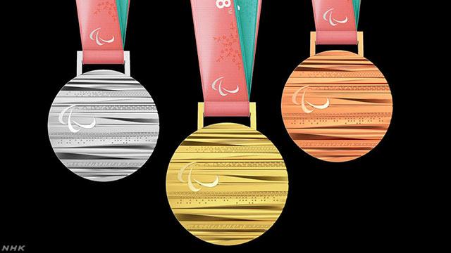 ピョンチャンパラリンピックのメダルを紹介