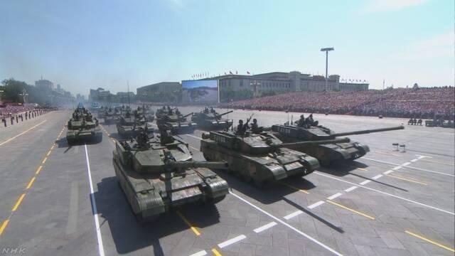 中国 国を守るために使うお金は去年より8%増える