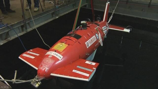 ロボットで海の底を調べるレース 日本が決勝に進む