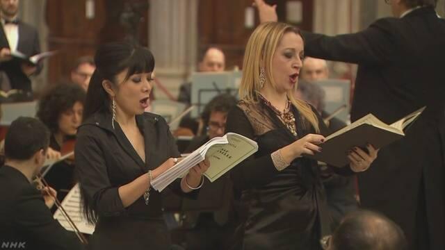 バチカンの大聖堂で復興祈るコンサート
